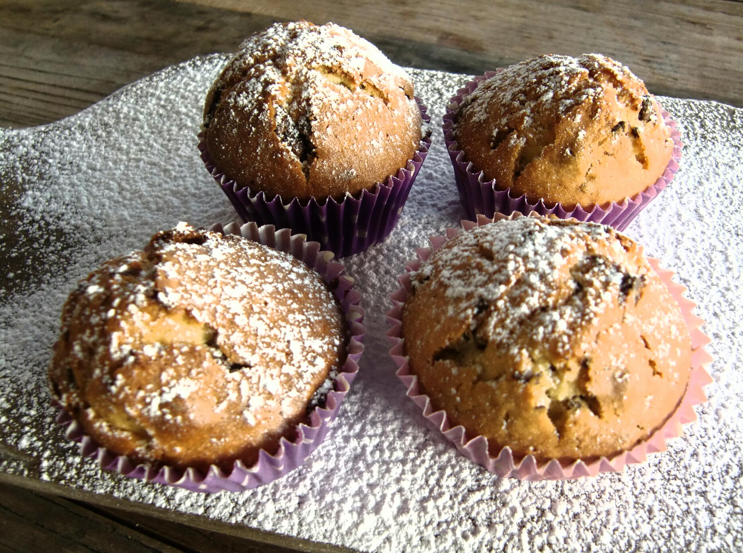 Fruktmuffins Fruit muffins