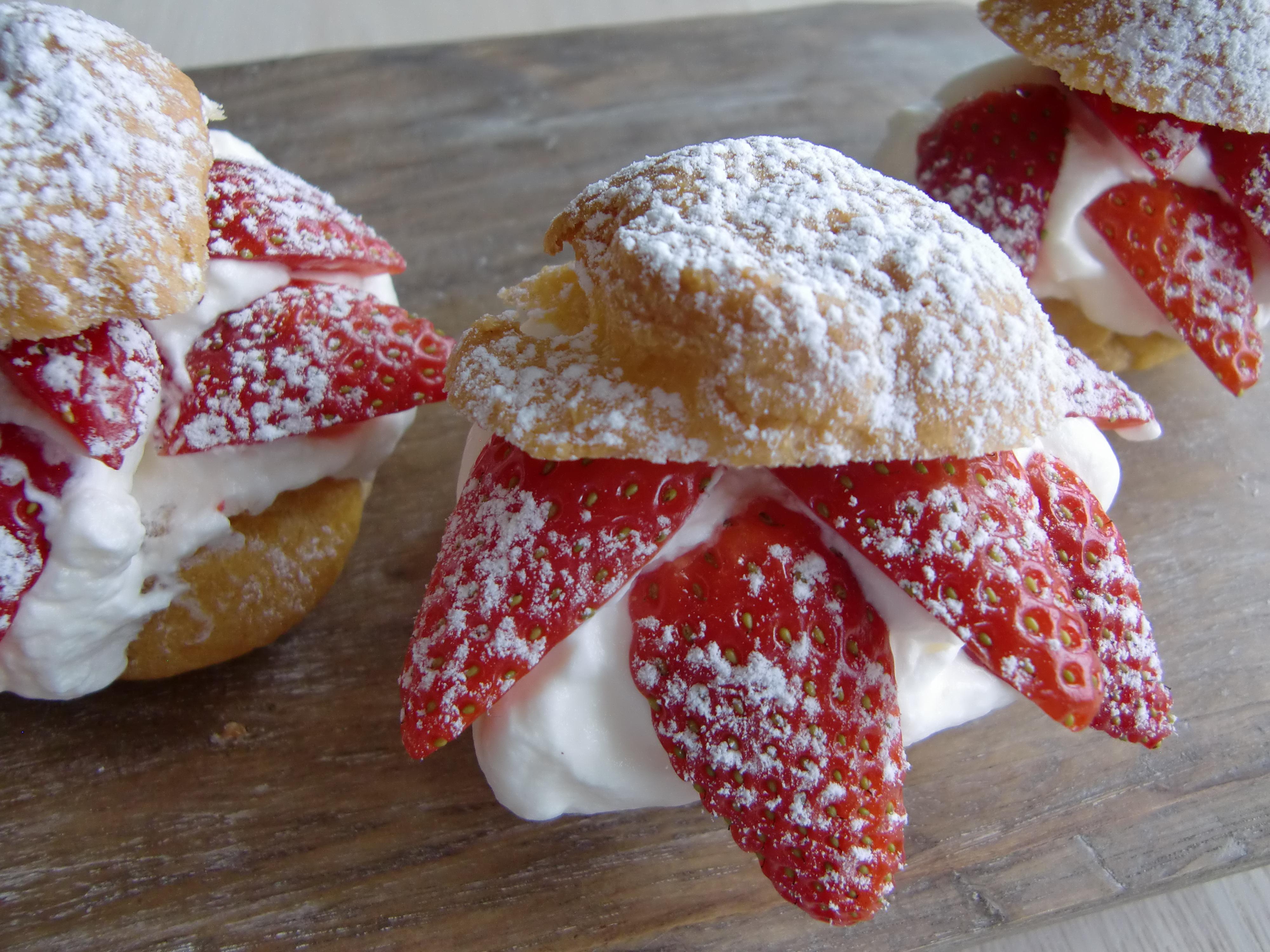 Vannbakkels - Choux Pastry
