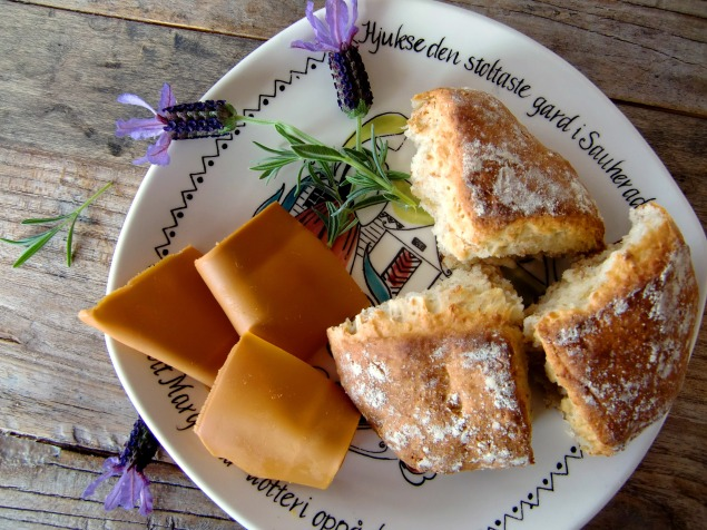 Scones with wholemeal