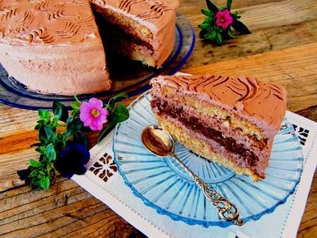Tropic Aroma chocolate cake